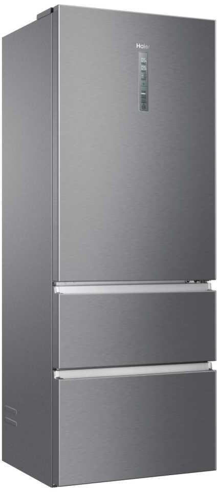 Image of Haier A3FE743CPJ American Fridge Freezer