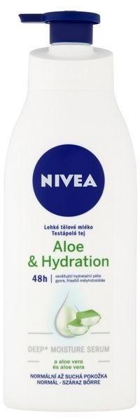 Nivea Aloe Hydration leichte Body lotion mit Aloe Vera (400ml)