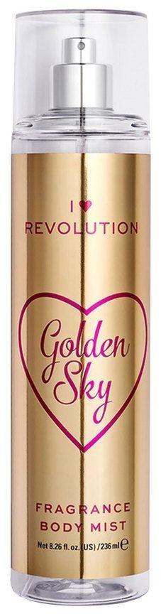 I Heart Revolution Body Mist refreshing body spray with Golden Sky fragrance (236ml)