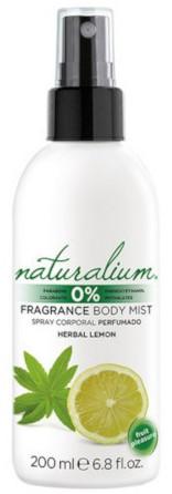Naturalium Fruit Pleasure Herbal Lemon Refreshing Body Spray (200ml)