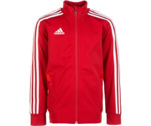 Adidas Trio 19 Trainingsjacke Youth power redredwhite ab