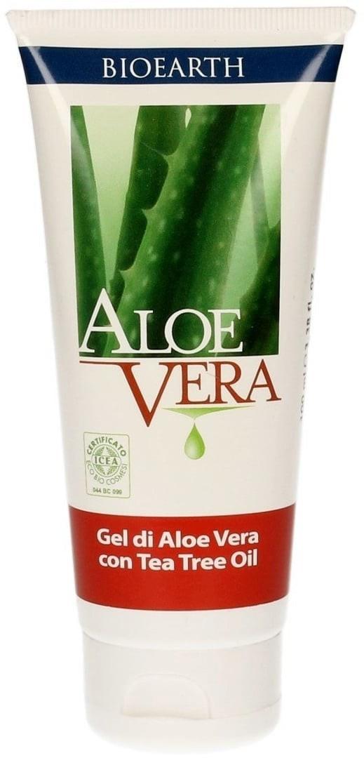 BIOEARTH Aloe Vera Gel mit Bio-Teebaum (100ml)