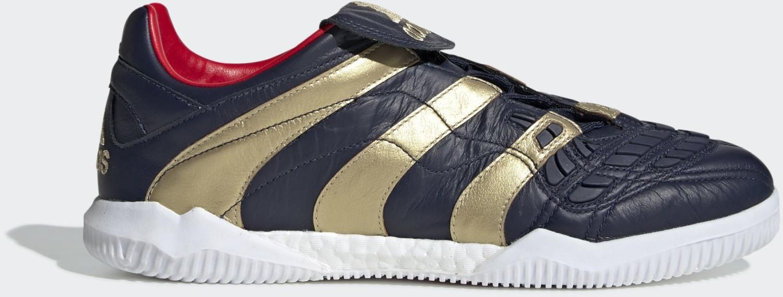 Image of Adidas Predator Accelerator Zinédine Zidane Shoe Collegiate Navy / Gold Met. / Predator Red Men (F37095)
