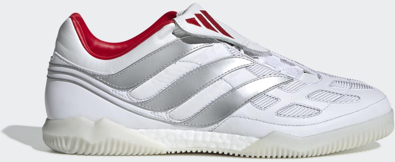 Image of Adidas Predator Precision David Beckham Shoe Cloud White / Silver Met. / Predator Red Men (F97224)