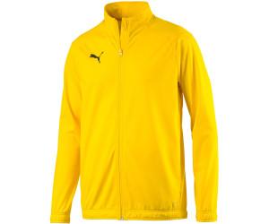 Puma Football Men's LIGA Sideline Poly Core Jacket (655946) cyber yellow/puma black
