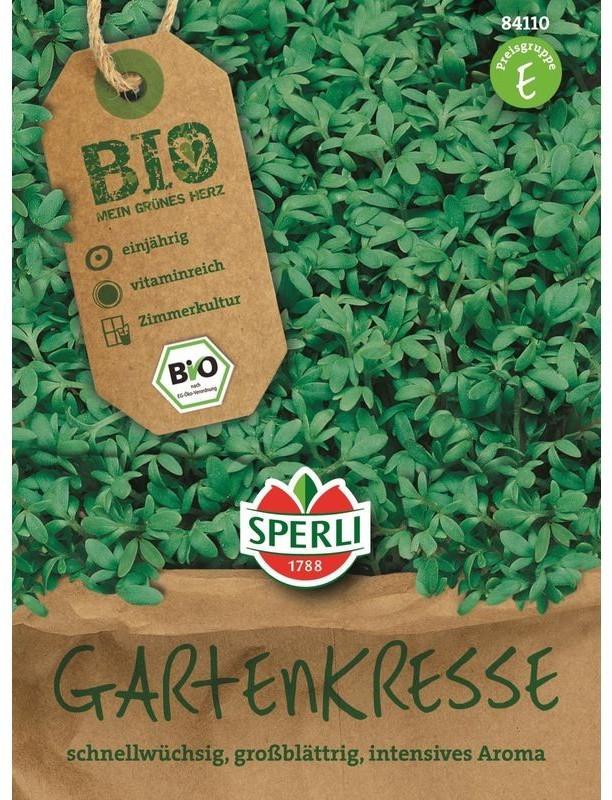 Sperli Gartenkresse Bio-Saatgut