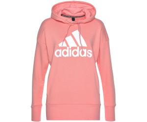 Adidas Women Athletics Badge of Sport Long Hoodie glory pink