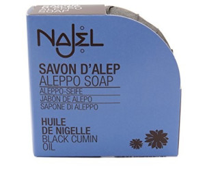 Najel Aleppo Seife mit Schwarzkümmel (100g)