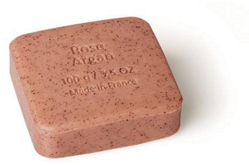 Savon du Midi Peeling-Seife mit Arganöl - Rose-Argan  (100g)