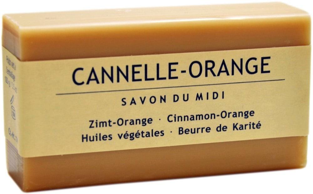 Savon du Midi Seife mit Karité-Butter - Zimt-Orange