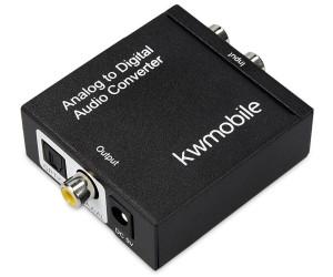 Konverter Digital Toslink SPDIF Koaxial auf zu Analog Audio Wandler Converter