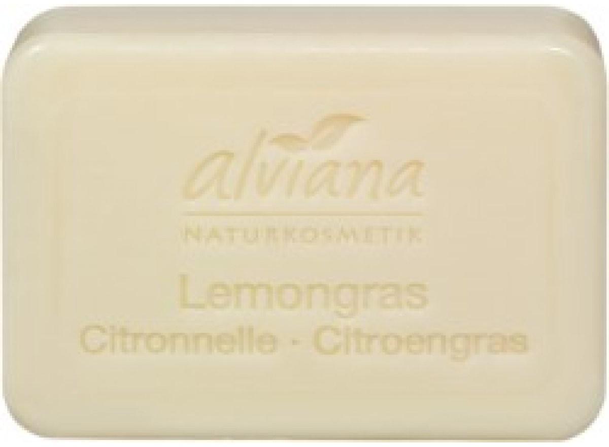 Alviana Pflanzenöl-Seife Lemongras (100g)