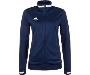 Power Red//White Hombre adidas Team19 Track Jacket