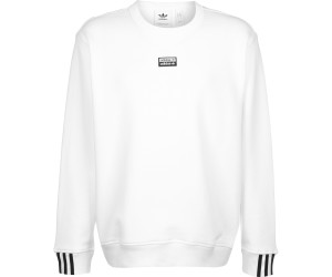 Adidas Men Originals R.Y.V. Crew Sweatshirt core white