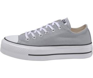 Converse Chuck Taylor All Star Platform Low Top wolf grey