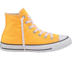 all star converse arancioni laser