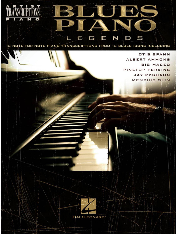 Image of Hal Leonard Artist Transcriptions: Blues Piano Legends