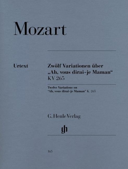 Image of Henle Verlag HN 165
