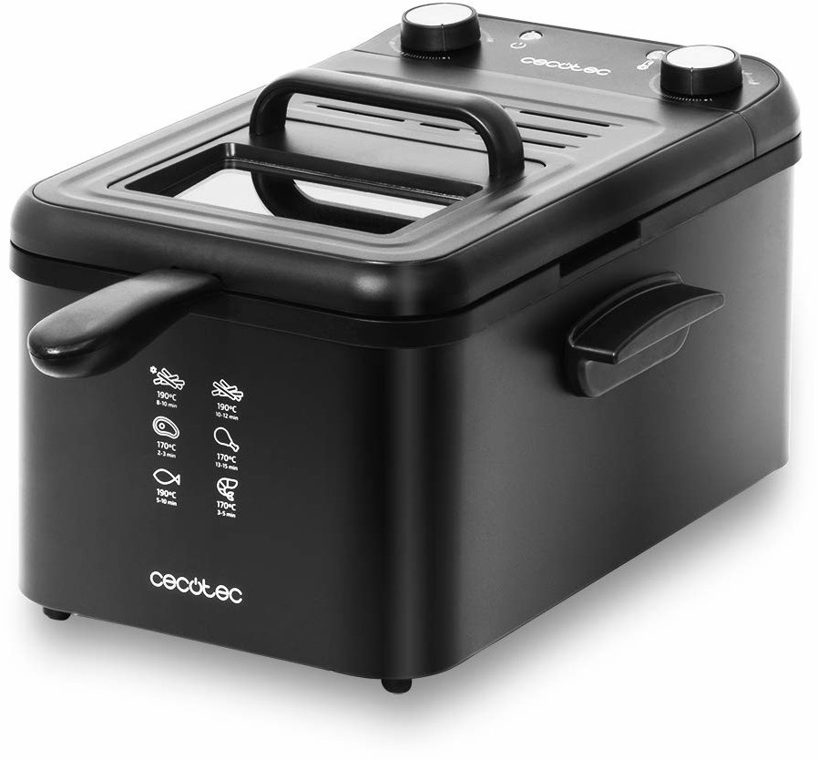 Image of Cecotec Cleanfry 3L Black
