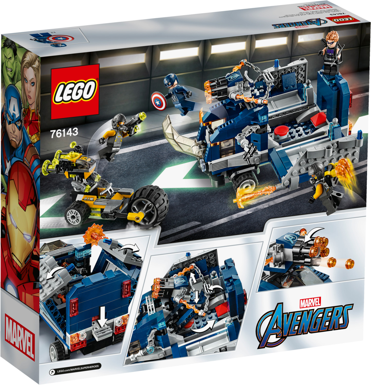 LEGO Marvel Avengers - L'attaque du camion des Avengers (76143)