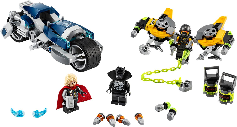LEGO Marvel Super Heroes - L'attaque du Speeder Bike des Avengers (76142)
