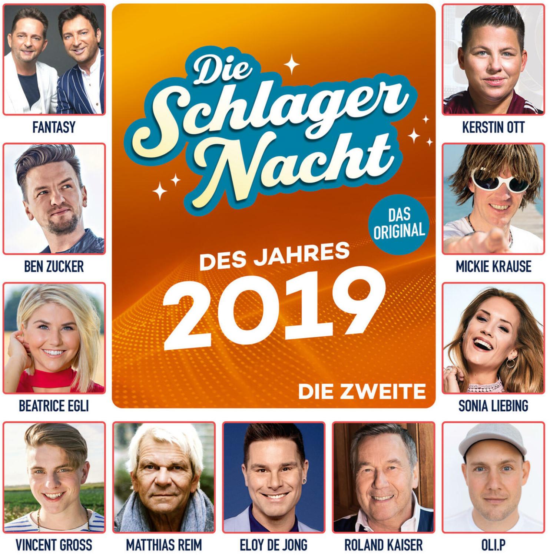 Die Schlagernacht des Jahres 2019 - Die Zweite (CD)