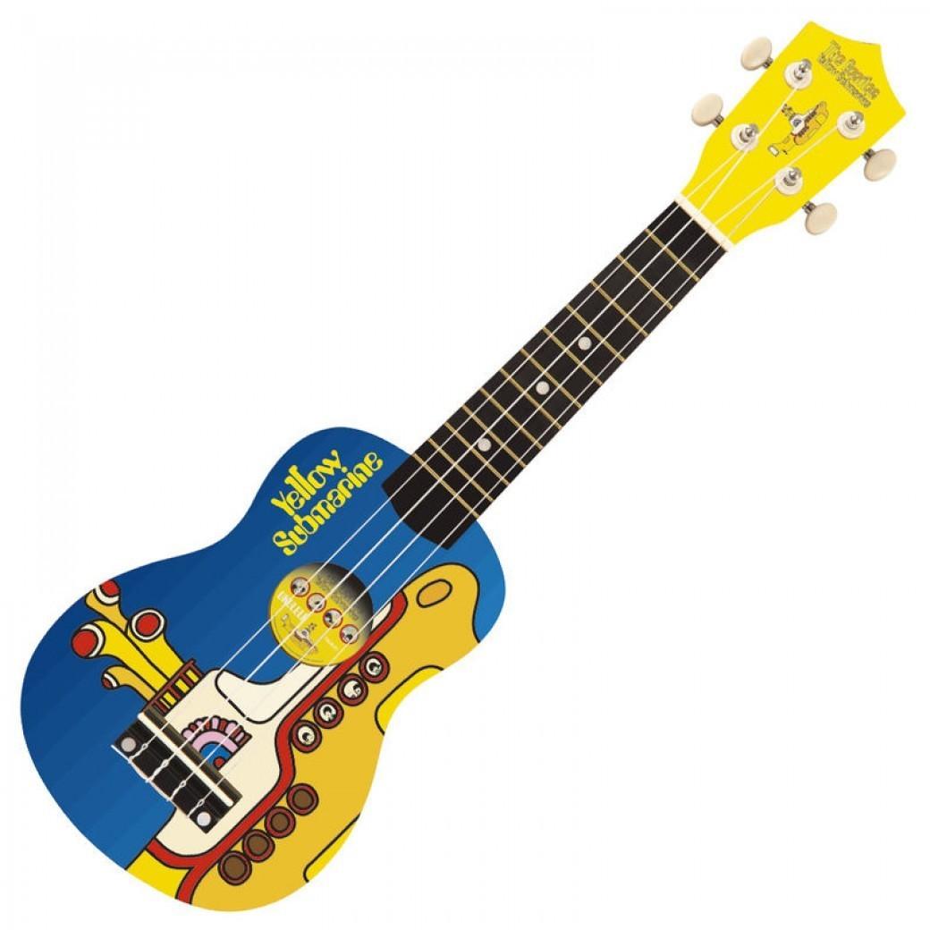 Image of Falcon Guitars The Beatles Yellow Submarine Ukulele YSUK01
