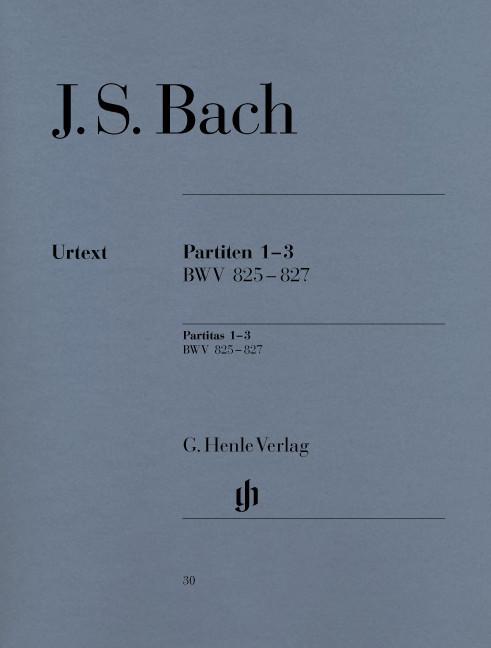 #Henle Verlag Johann Sebastian Bach Partiten 1-3 BWV 825-827#