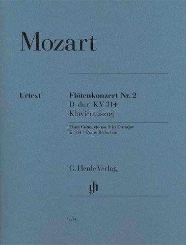 Image of Henle Verlag Mozart Flute Concerto Number 2 in D Major