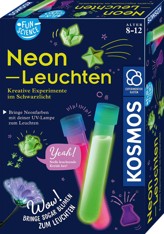 Kosmos Neon-Leuchten - Kreative Experimente im Schwarzlicht