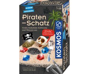 Experimentierkasten Ausgrabung Schatzsuche KOSMOS Ritter-Schatz Ausgrabungs-Set