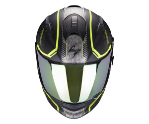 Scorpion Motorradhelm EXO-510 AIR Occulta Matt Black-Neon Yellow Schwarz//Gelb S