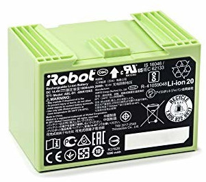 Image of iRobot 4624864 Li-Ion battery 1800mAh for Roomba series e5, i7, i7 +, 26W