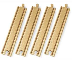 Image of Brio 1/1 Straight Tracks (33341)