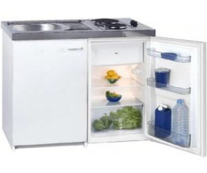 Miniküche Mit Kühlschrank Preisvergleich : Miniküche singleküche inkl kühlschrank mit gefrierfach top