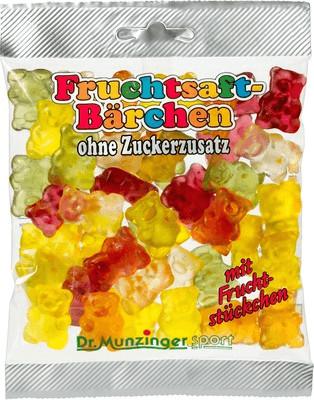 Dr. Munzinger Fruchtsaftbärchen ohne Zucker (12...