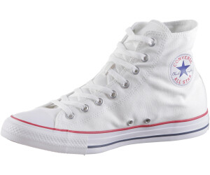 2converse all star hi bianche
