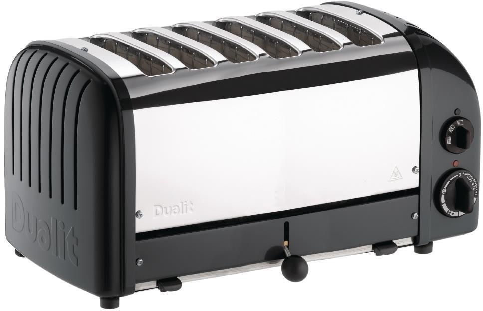Image of Dualit Bun Toaster 6 Bun Black