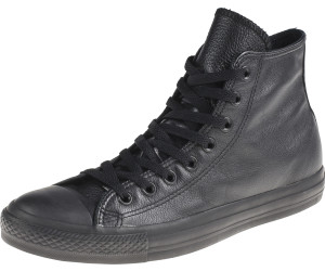 Converse Chuck Taylor All Star Specialty Leather Hi - black monochrome (1T405)