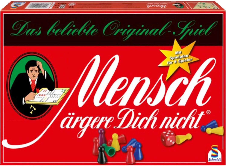 Schmidt-Spiele Mensch ärgere dich nicht - 2 bis 6 Spieler (49020)
