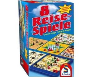 Schmidt Spiele 8 Reise-Spiele magnetisch Spielesammlung 1 bis 4 Spieler