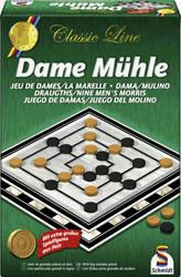 Schmidt-Spiele Classic Line Dame und Mühle (49083)