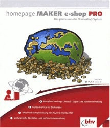 bhv Homepage Maker e-shop Pro (DE) (Win)