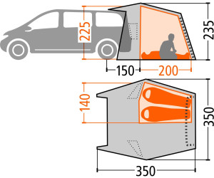 vaude drive van ab 419 90 preisvergleich bei. Black Bedroom Furniture Sets. Home Design Ideas