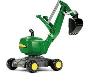 Image of Rolly Toys rollyDigger John Deere Escavatrice su ruote