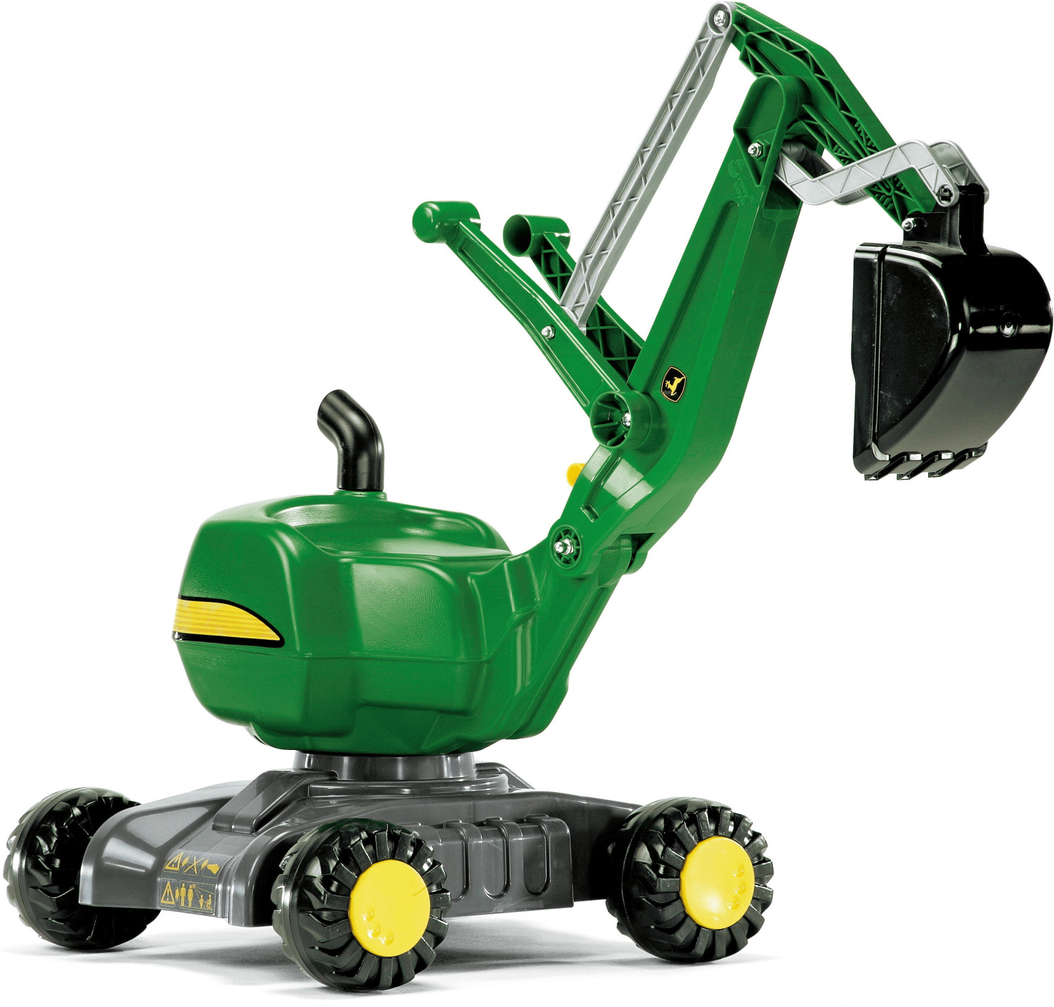 Image of Rolly Toys rollyDigger John Deere Escavatrice su ruote