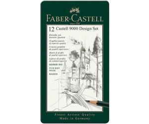 Faber-Castell Bleistift Design Set 12 Bleistifte 5B-5H WOW
