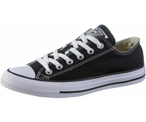 Converse Chucks Ox Low Nero m9166 BLACK ALL STAR