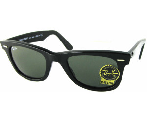 Ray Ban Original Wayfarer RB2140 901 50 black / crystal green 22Ip3tI