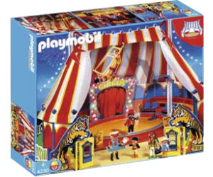 playmobil grand chapiteau de cirque 4230 au meilleur prix sur. Black Bedroom Furniture Sets. Home Design Ideas